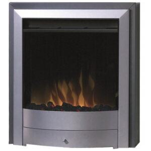Dimplex X1S Silver Inset Electric Fire