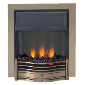Dimplex DAN20AB Danesbury 2kW Optiflame Effect Electric Fire In An Antique Brass Finish