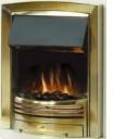 Dimplex ADG20BR Adagio Optiflame Effect Electric Fire In A Brass Finish