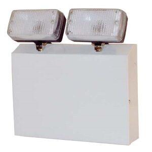 IP20 2x20w 110 Volt Halogen Emergency Twin Spot In White