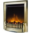 Dimplex EBY15BR Exbury Inset Electric Fire In Brass