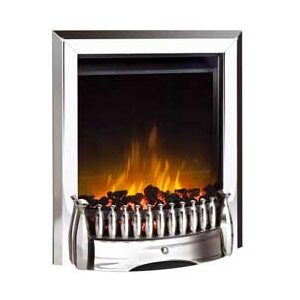Dimplex EBY15CH Exbury Inset Electric Fire In Chrome