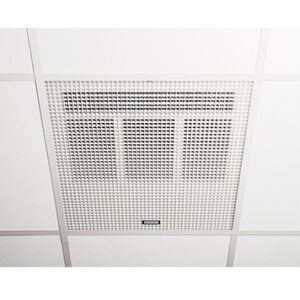 Consort Claudgen HE7260SL 6kW Wireless Controlled Recessed Ceiling Fan Heater To Fit 600mm Ceiling Grid
