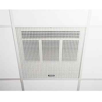 Consort claudgen he7260sl 6kw wireless controlled recessed ceiling consort claudgen he7260sl 6kw wireless controlled recessed ceiling fan heater to fit 600mm ceiling grid aloadofball Images