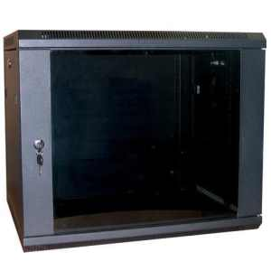 kitchen cabinets 500mm deep excel wb12 5sgb 12u 500mm wall rack cabinet in black 19926