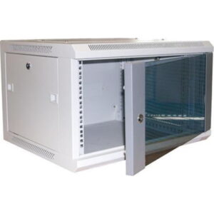 Excel WB12.5SG 12u 500mm Deep Wall Rack Cabinet In Grey