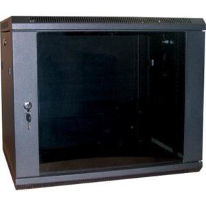 Excel WB15.5SGB 15u 500mm Deep Wall Rack Cabinet In Black