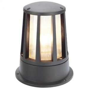 230435 Cone Outdoor Mini Bollard Light In Anthracite