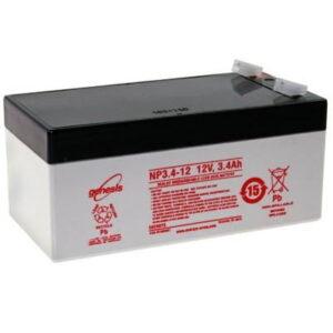 NP3.4-12 Genesis NP Series 12 Volt 3.4Ah Lead Acid Battery