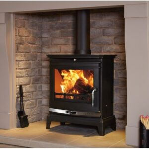 Flavel FCSSB Rochester 7 Multifuel Stove Polished Chrome Trim