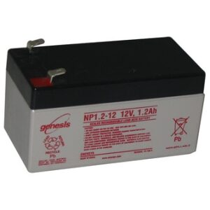 NP1.2-12 Genesis NP Series 12 Volt 1.2Ah Lead Acid Battery