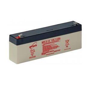 NP2.3-12 Genesis NP Series 12 Volt 2.3Ah Lead Acid Battery