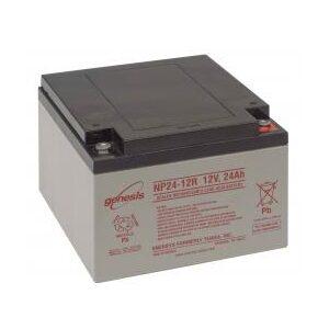NP24-12 Genesis NP Series 12 Volt 24Ah Lead Acid Battery