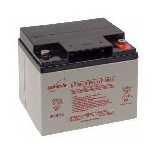 NP38-12 Genesis NP Series 12 Volt 38Ah Lead Acid Battery