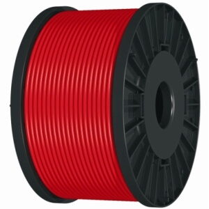 Ventcroft VFP-225ERH No-Burn 2.5mm 2 Core & Earth Fire Performance Cable In Red 100m Reel