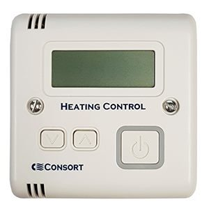 Consort Claudgen SLVTB Battery Powered Run Back Timer And Adjustable Thermostat Wireless Controller