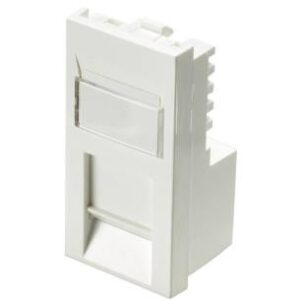 Excel 100-366 Category 6 Unscreened Low Profile RJ45 Module In White