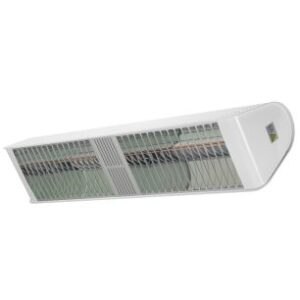 Heat Outdoors 901730 4.8kW Shadow Fatboy Double Mega Heat Patio Heater In White