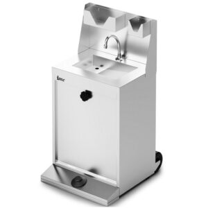 Lincat F63/700 IMC Reduced Height Ambient Junior Mobile Hand Wash Station Without Heater
