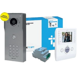 BPT VRM 1 Way Surface Video Entry Panel With Keypad And Indoor Handset