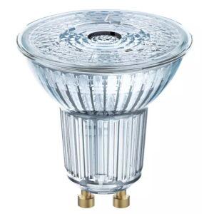 Osram 5.5W Retrofit Dimmable GU10 LED Lamp In Warm White 3000K
